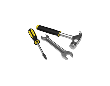 Hammer-wrench-screwdriver
