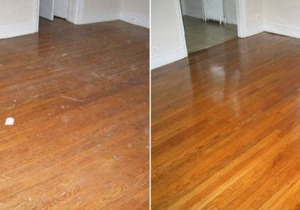 Wood-floor-polishing