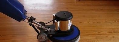 Wood-floor-machine-disc-cleaning